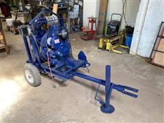 Gorman-Rupp Pump W/Motor On Cart