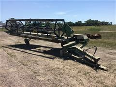 John Deere 590 Canvas Swather