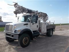 2006 International 7400 4x4 Digger Derrick Truck