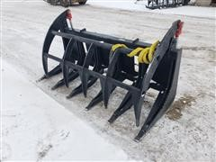 2019 Mid States Skid Steer Root/Brush Grapple
