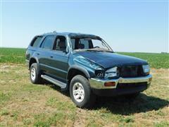 1997 Toyota 4-Runner SR5 Wrecked SUV