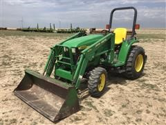 John Deere 4300 Compact Utility Tractor W/Attachments