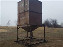 Homemade Upright Metal Bulk Bin