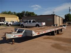 2000 Interstate 18DT T/A Equipment Trailer