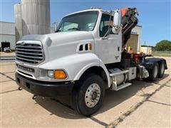 2006 Sterling L9513 T/A Truck Tractor W/Knuckleboom