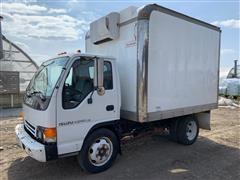 2000 Isuzu NPR HD Tilt-Cab Reefer Cargo Truck