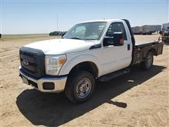 2014 Ford F250 Flatbed Pickup