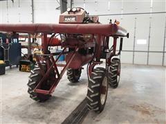 Hagie High-Boy Tall Crop Pivot Repair Transport Machine