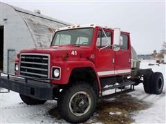 1982 International S-Series 1854 4x4 T/A Crew Cab Truck