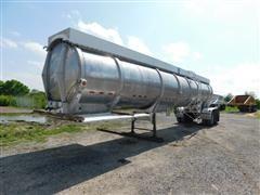1980 J&L T/A Aluminum Tanker Trailer
