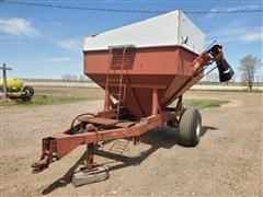 Homemade Grain Cart