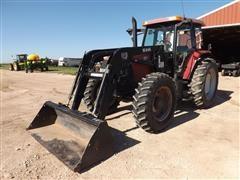 2004 Case IH MXM130 MFWD Tractor W/Loader