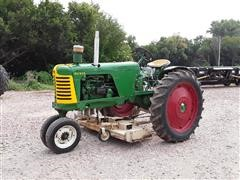 1955 Oliver Super 66 Diesel 2WD Tractor & Belly Mower