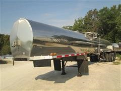 1978 Brenner 4300 Gallon Stainless Steel T/A Trailer