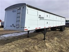 2009 Maurer 42' T/A Grain Trailer