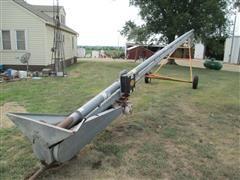 "Hutchinson 6"" Chain-Paddle Conveyor"