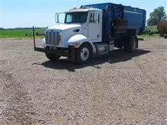 2008 Peterbilt 335 Feed Mixer Truck