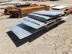 Galvanized Windbreak Panels