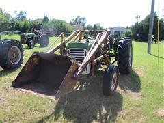 Oliver 550 2WD Tractor W/Loader