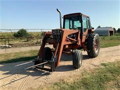 1981 International Hydro 186 2WD Tractor W/Farmhand Loader