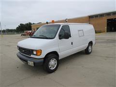 2007 Ford E250 Full Size Cargo Van