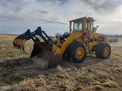 International H90 Series E Wheel Loader W/ Grapple
