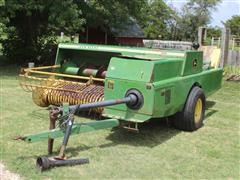 John Deere 466 Small Square Wire Tie Baler