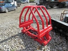 "2017 Inter Tech HD 68-82"" Round Bale Grapple"