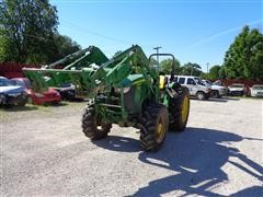 2013 John Deere 5085M 4WD Tractor W/826 Loader No Bucket
