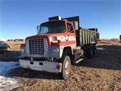 1980 Ford LNT9000 T/A Manure Spreader Truck