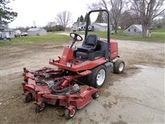 "Toro 3000 D 4 WD Commercial Lawn Mower W/82"" Deck"