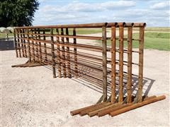 J Bar H 24' Freestanding Livestock Panels