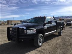 2008 Dodge RAM 3500 Heavy Duty Laramie 4x4 Crew Cab Utility Truck
