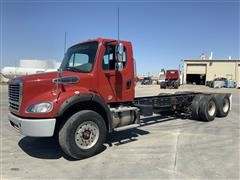 2015 Freightliner M2 112 6x4 Day Cab T/A Cab & Chassis