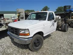 1992 Ford F-450 Super Duty Cab And Chassis