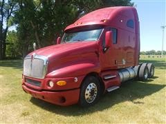 2007 Kenworth T2000 T/A Conventional Truck Tractor