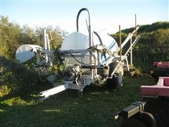 2012 Kennco 1200 Gal Pull Type Sprayer