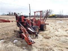 DitchWitch R65 Trencher W/Backhoe