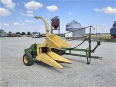 John Deere 38 Forage Harvester W/1 Row Corn Head And Hay Pickup Head