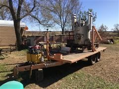 Merr 2204 T/A Flatbed Trailer W/Thermoplastic System