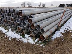 """Hastings /Tex-Flow 8"""" X 30' Irrigation Pipe"""
