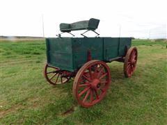 Horse Drawn Freight Wagon