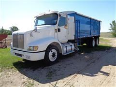 2002 International 9200i 6x4 T/A Grain Truck W/2014 20' Brehmer Steel Box