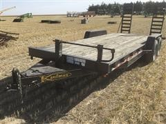 2010 Kaufman T/A Equipment Trailer
