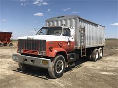 1983 GMC 7000 Top Kick T/A Dump Bed Grain Truck