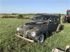 1939 Plymouth 4 Door Antique Car