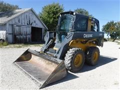 2012 John Deere 326D Skid Steer Loader