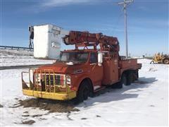 1972 GMC 6500 T/A Bucket Truck