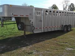 2005 Wilson Ranchhand PSGN-5724T T/A Livestock Trailer