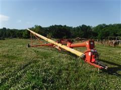 """Westfield 10""""X81' Grain Auger W/Swing Away Hopper"""